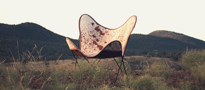 Nguni Butterfly Chairs