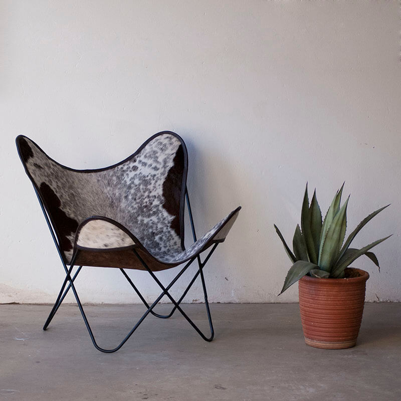 Nguni Butterfly Chair
