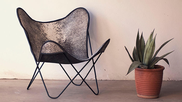 Order Nguni Butterfly Chair